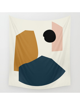 Shape Study #1   Lola Collection Wall Tapestry by