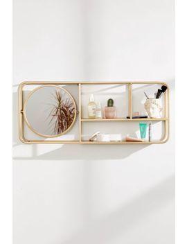 Lottie Mirror Shelf by Urban Outfitters