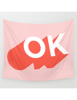 Ok Wall Tapestry by