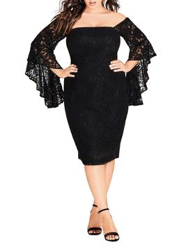 Mystic Lace Dress by City Chic