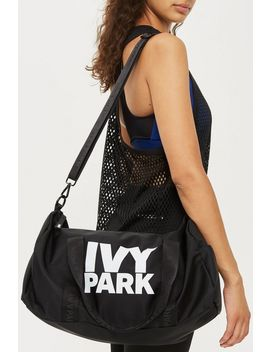 Layer Logo Gym Bag By Ivy Park by Topshop