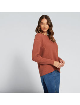 Contrast Rib Knit by Seed Heritage