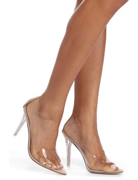 Glass Slipper Lucite Pumps by Windsor