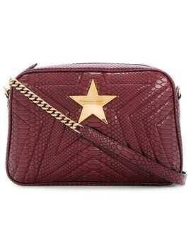 Stella Mc Cartney Star Patch Shoulder Baghome Women Stella Mc Cartney Bags Shoulder Bagscut Out Detail Jumperflared Cropped Jeans Star Patch Shoulder Bag by Stella Mc Cartney