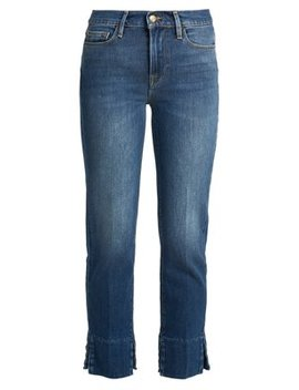 Le Nouveau Straight Leg Cropped Jeans by Frame