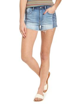 Colorblock Denim Shorts by Vigoss