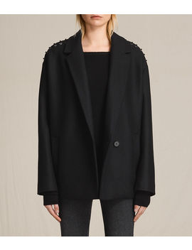 Ada Laced Short Coat by Allsaints