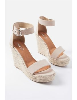 Greer Espadrille Wedge by Cotton On