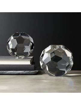 Andre Crystal Spheres by Crate&Barrel