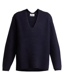 Deborah Wool Sweater by Acne Studios