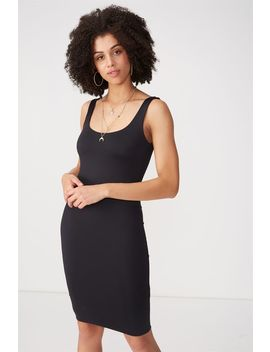 Party Scoop Neck Midi Dress by Cotton On