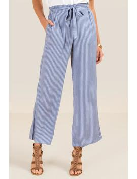 Jayden Wide Leg Striped Pant by Francesca's
