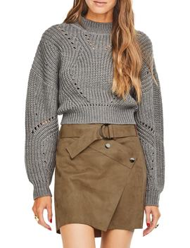 Carly Crop Sweater by Astr The Label