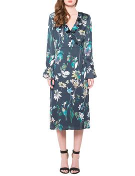 Floral Wrap Dress by Willow & Clay