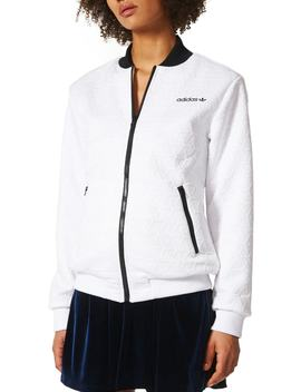 Bomber Track Top by Adidas