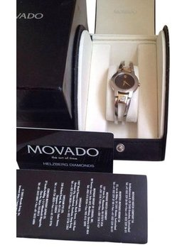 Two Tone Diamond For Women Watch by Esq Movado