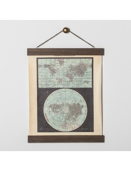 Earth Map Wall Art   Hearth & Hand™ With Magnolia by Shop All Hearth & Hand™ With Magnolia
