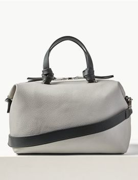 Faux Leather Tote Bag by Marks & Spencer