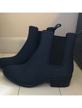 Jeffery Campbell Stormy Rain Boots by Jeffrey Campbell