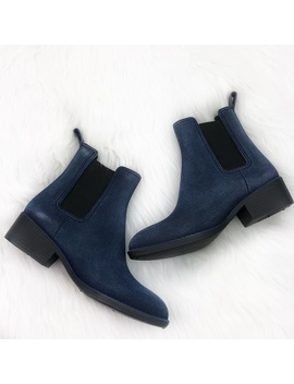 Jeffrey Campbell Stormy Rain Boots Navy Suede   Nwt by Jeffrey Campbell