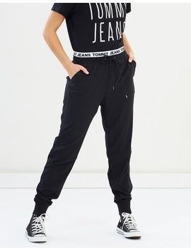 Logo Waistband Pants by Tommy Jeans
