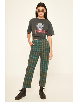 Luck & Trouble Taper Pant Green by Universal Store