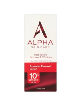 Alpha Skin Care Essential Renewal Lotion 4 Fl. Oz. by Alpha Skincare