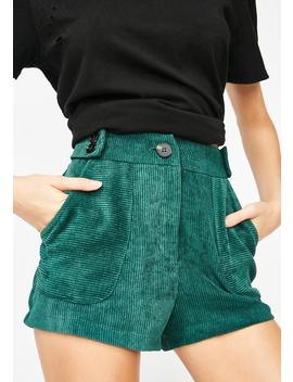 Free Ride Corduroy Shorts by Lush
