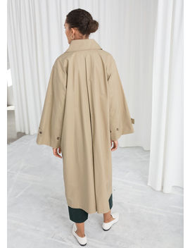 Oversized Utilitarian Trenchcoat by & Other Stories