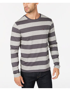 Men's Lexington Stripe Pocket T Shirt by Tommy Hilfiger