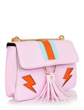 Pink Lightning Laureli Cross Body Bag by Skinnydip