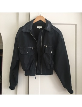 Vintage Ann Taylor Bomber Jacket by Ann Taylor