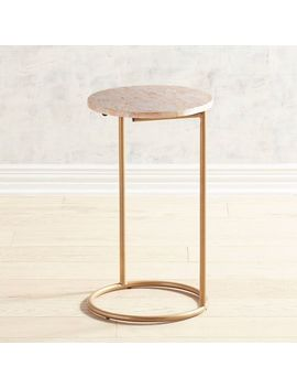 Blush Mother Of Pearl C Table by Pier1 Imports