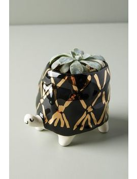 Flecked Fauna Planter by Anthropologie