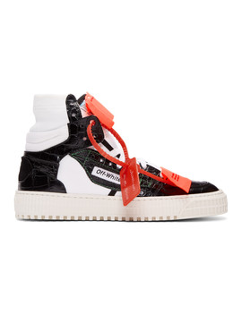 Black & White Low 3.0 Sneakers by Off White