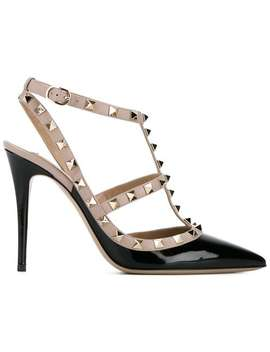 Valentino Valentino Garavani Rockstud Strap Pumpshome Women Valentino Shoes Pumps by Valentino