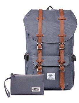Outdoor Laptop Rucksack, Reisen Wandern & Camping Rucksack Pack, Kaukko, Grau (Cg 2 Pcs) by Amazon
