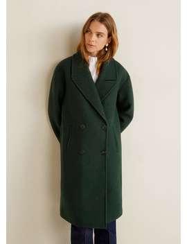 Duplasoros Gombolású Kabát by Mango