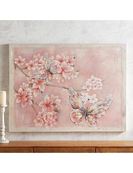 Blush Butterflies Art by Pier1 Imports