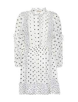 Presley Polka Dot Minidress by Ulla Johnson