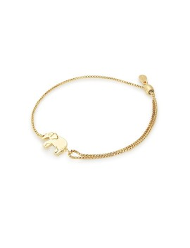 Elephant Pull Chain Bracelet by Alex And Ani