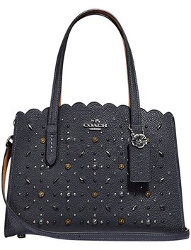 Charlie Carryall 28 With Prairie Rivets by Coach