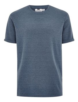 Blue Boxy T Shirt by Topman