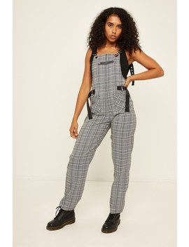 I Am Gia Cobain Overalls Grey Check by Universal Store