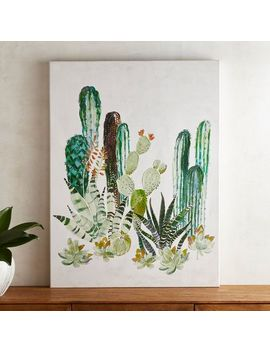 Simple Cactus Art by Pier1 Imports