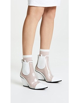 Aliases Pvc Ankle Boots by Jeffrey Campbell