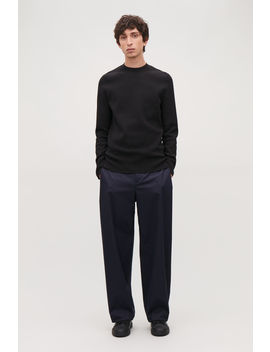 Mock Neck Knitted Jumper by Cos
