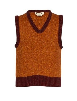 Wool Blend Knitted Vest by Marni