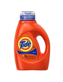 Tide Original Scent Liquid Laundry Detergent, 50 Fl Oz (Pack Of 2) (Packaging May Vary) by Tide