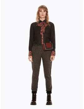 Mixed Print Bow Blouse by Scotch&Soda